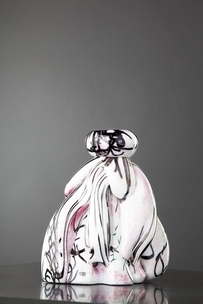 Sugar Dandy Cosy Candle Limited Art Glass, design by Åsa Jungnelius for Kosta Boda