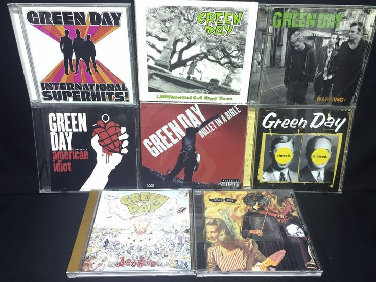Green Day CD/CDs Lot: International Superhits! American Idiot Dookie Warning +++