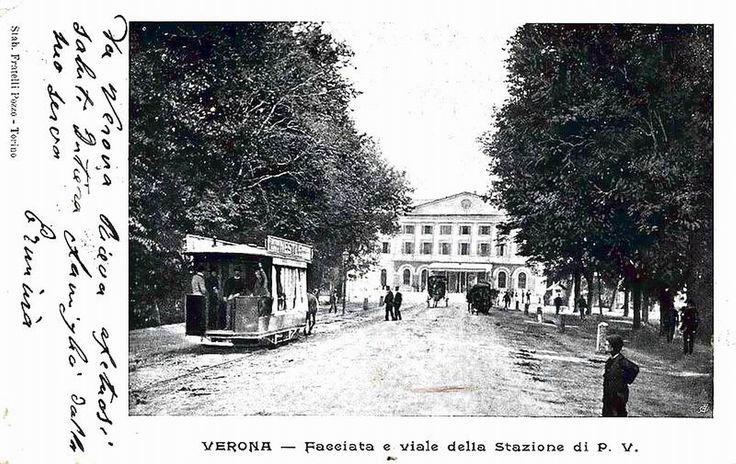 Verona - Viale stazione Porta Vescovo primi 900