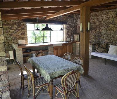 Káli Cottages at Lake Balaton - Outdoor kitchen table