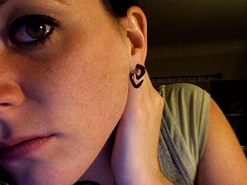 Girls with small Gauged Ears | Girl Gauged Earrings