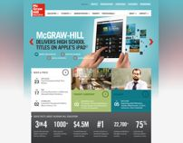 McGraw-Hill Education - Redesign Concept Boards