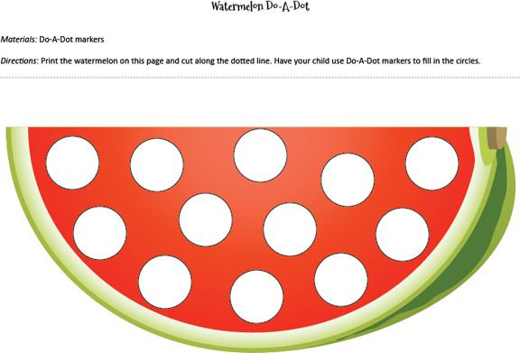 17 Best Images About Do-a-dot On Pinterest