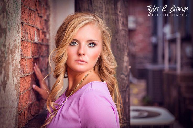 @kaybear099 - Heritage High School - Senior Portraits - Class of 2015 - #seniorportraits - Ideas for Girls - Summer - Senior Pictures - Purple - Poses for Girls - #seniorpics - Downtown McKinney - Tyler R. Brown Photography