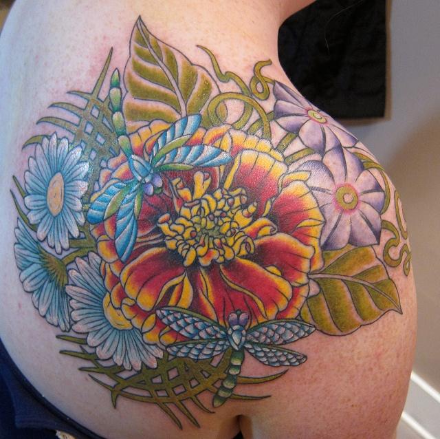 Art Nouveau Flower Tattoo: 13 Best Buttercup Tattoo Images On Pinterest