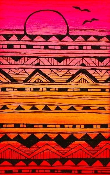 Aztec Patterns :) | apple nerd | Pinterest