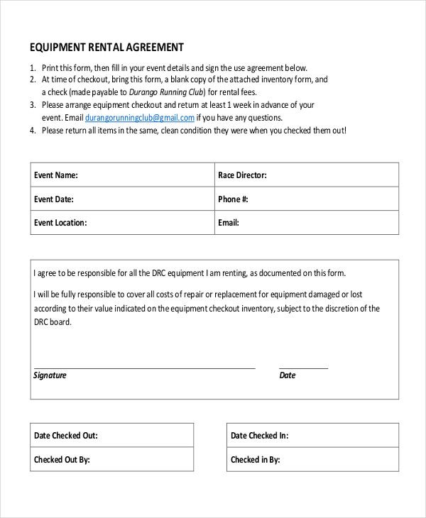 Party Rental Agreement Best Party Rental Agreement New Lease