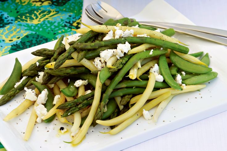 Just four ingredients is all it takes to create this tasty asparagus and pea side dish.