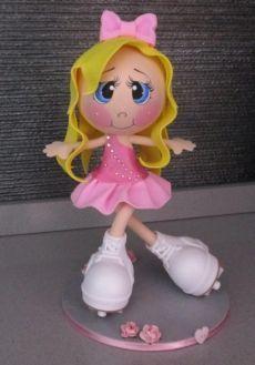 Куклы из фоамирана: выкройки, мастер класс. Как сделать куклы из фоамирана…