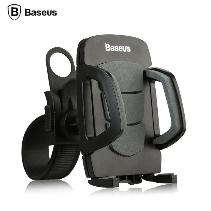 Baseus Bicycle Bike Phone Holder Stand Bracket 360 Degree Rotation Universal Holders For iPhone SE 5S 6 6S Plus Smartphone GPS