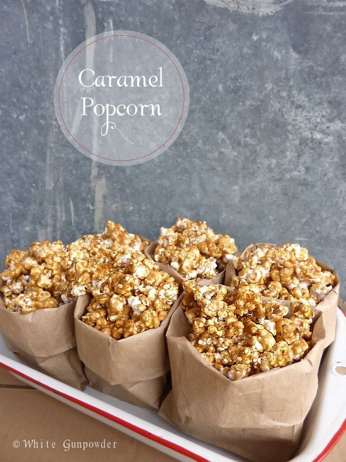 Caramel Popcorn - White Gunpowder