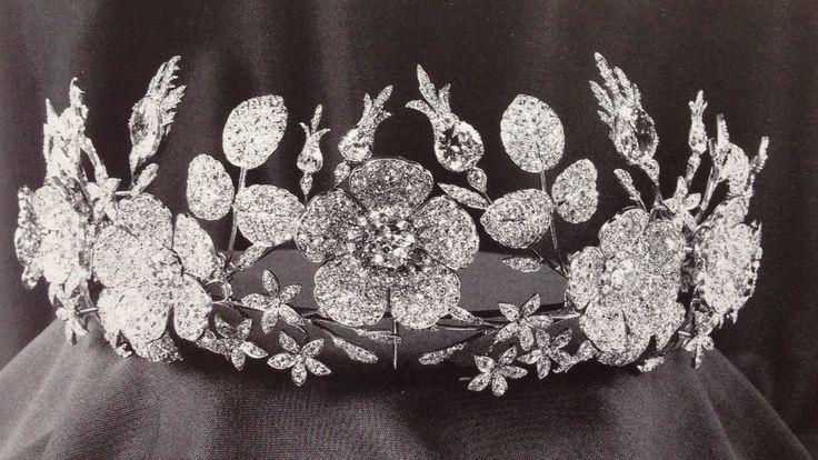 British: The Bedford Floral Diamond Tiara. Duke of Bedford, Marquess of Tavistock.