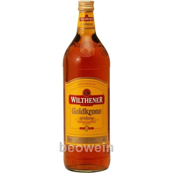 spirituosen ddr | Wilthener Goldkrone 1,0 l - Beowein
