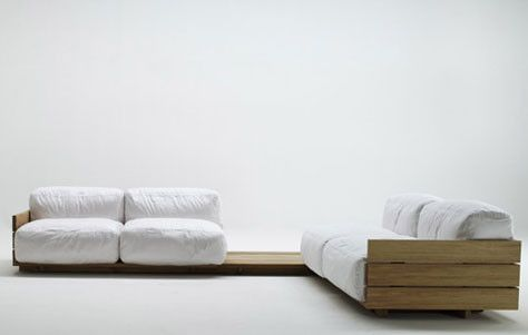The Pallet Sofa by Piero Lissoni for Matteograssi