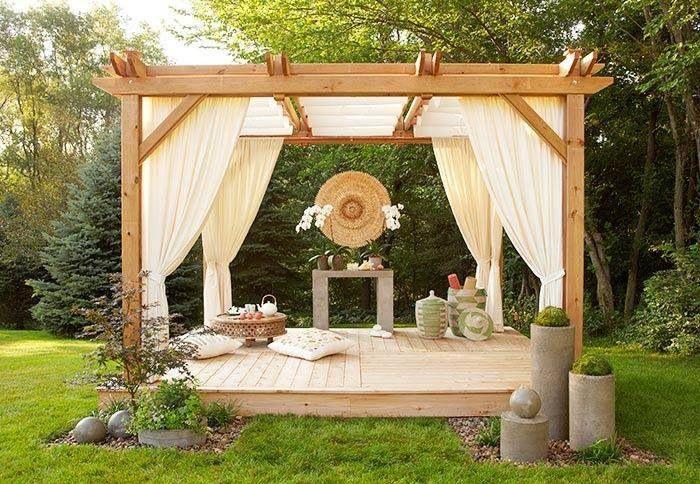 Tea house / yoga deck on terrace?