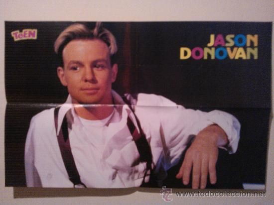 Carteles: MADONNA SUPER TEEN POSTER GRANDE JASON DONOVAN 54X85 - Foto 2 - 31166615