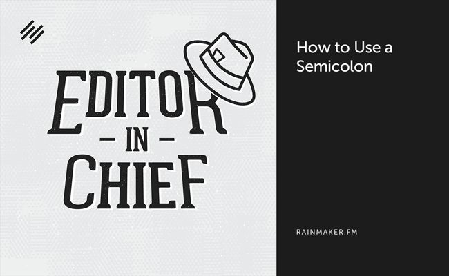 Because we all can use a refresher // How to Use a Semicolon - Copyblogger http://snip.ly/HBeF?utm_content=buffer420ea&utm_medium=social&utm_source=pinterest.com&utm_campaign=buffer