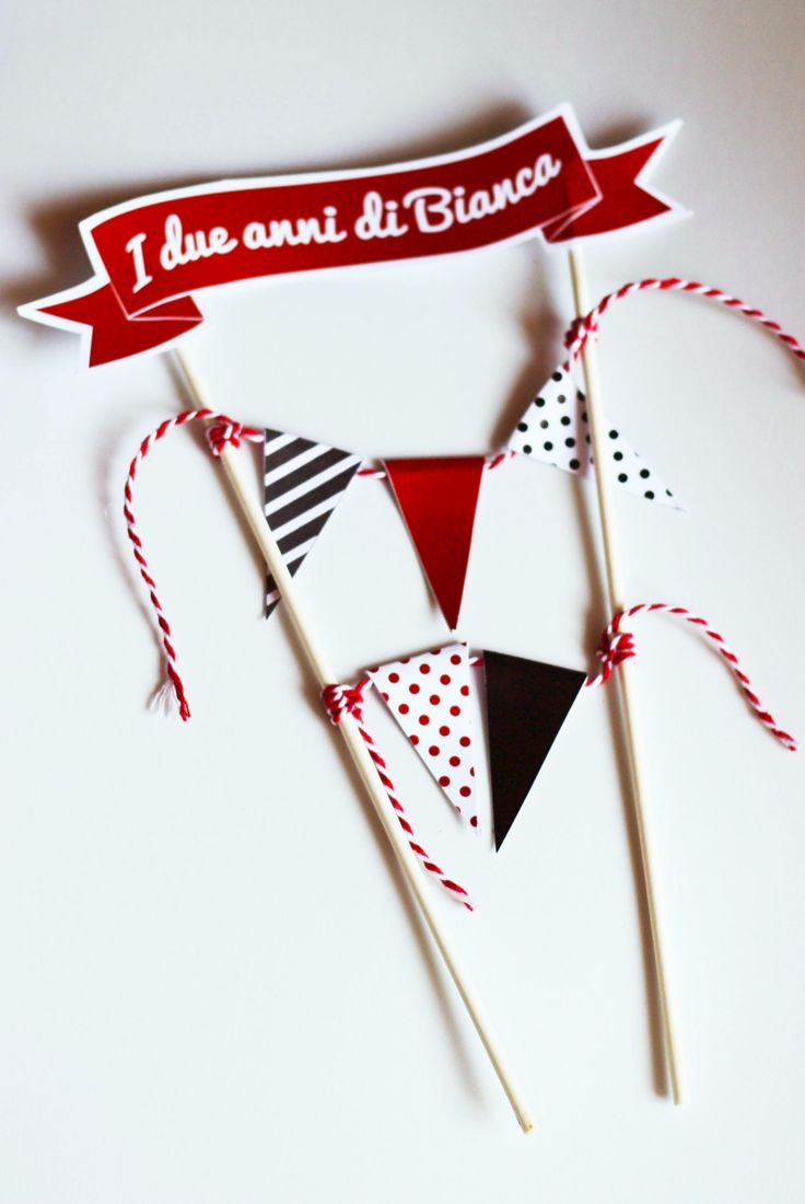 • Cake topper by *Paper-pow •