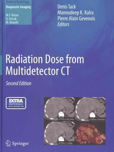 Radiation Dose from Multidetector CT