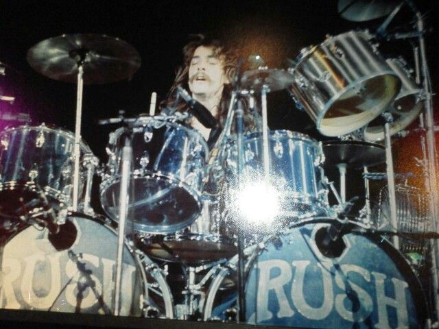 Neil Peart On The 2112 Tour