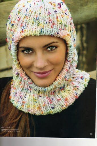 Receitas de Trico e Croche: Gorro em tricot