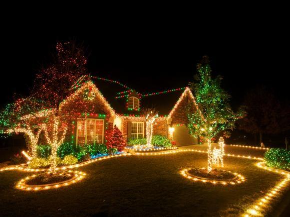 Residential Christmas Light Display