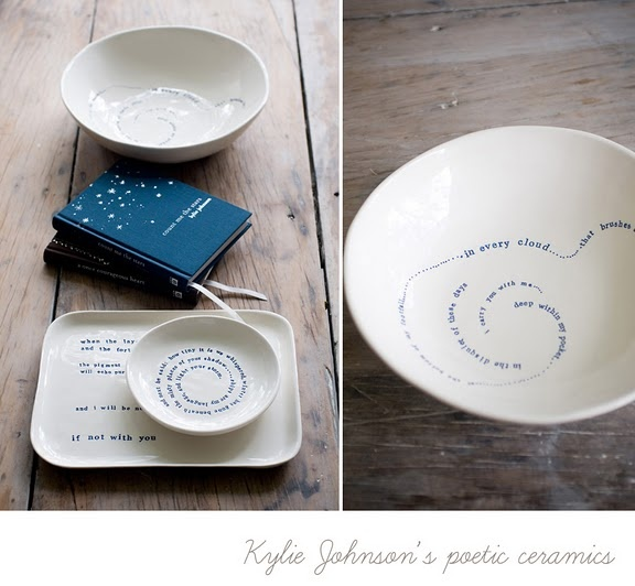 Ceramics from Kylie Johnson