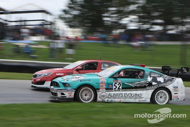 Roger Rodas, Ford Mustang Boss 302 S at Mid-Ohio
