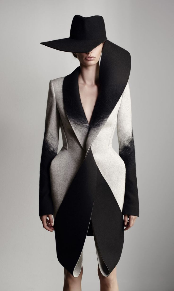 Dion Lee's Woolmark collection - wow, this is fashion photography