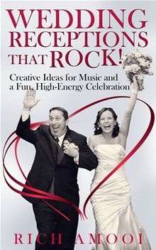 Wedding Receptions That Rock! Creative Ideas for Music and a Fun, High-Energy Celebration by Rich Amooi. Award-winning DJ/MC Rich Amooi shares ideas on creating a high-energy reception. Although you'll have a few things to think about for before the reception, the main focus of this #eBook is on the events at your wedding reception. Read it on #Kobo: http://www.kobobooks.com/ebook/Wedding-Receptions-That-Rock-Creative-Ideas/book-9URqqVG750KsURoWLHE2Zg/page1.html
