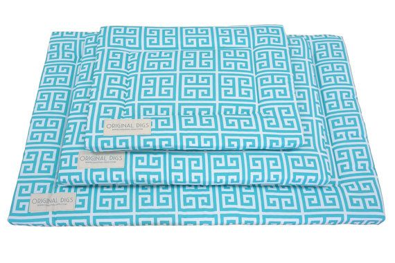 Pet Pad | Blue Dog Mat | Dog Crate Pads | Durable | Water Resistant | Dog Kennel Pad | Machine Washable | Small/Medium/Large/XL Dog Beds by originaldigsllc. Explore more products on http://originaldigsllc.etsy.com