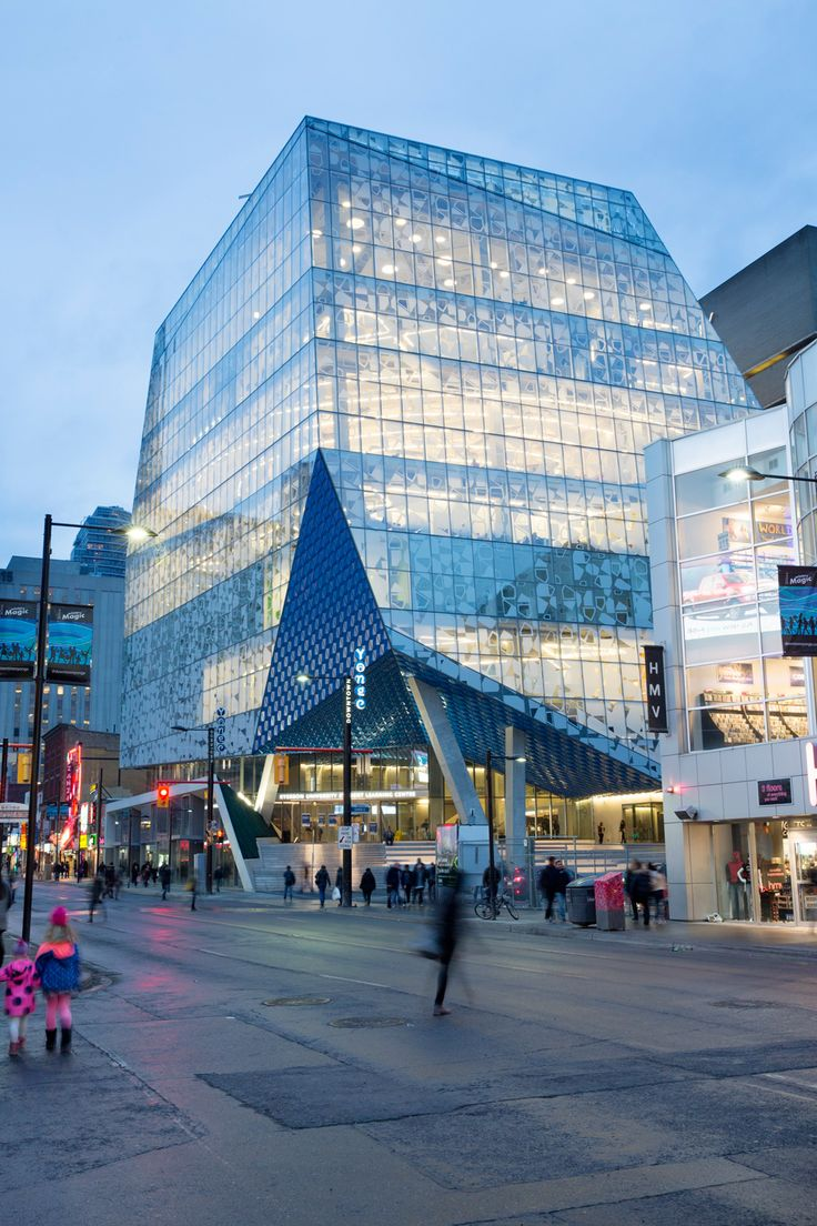 Snhetta Finalizes Ryerson Universitys Student Learning Centre In Toronto