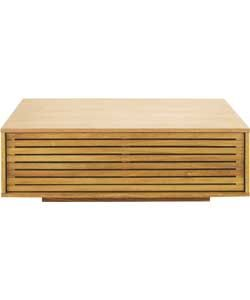 Habitat Max Oak Low Table.