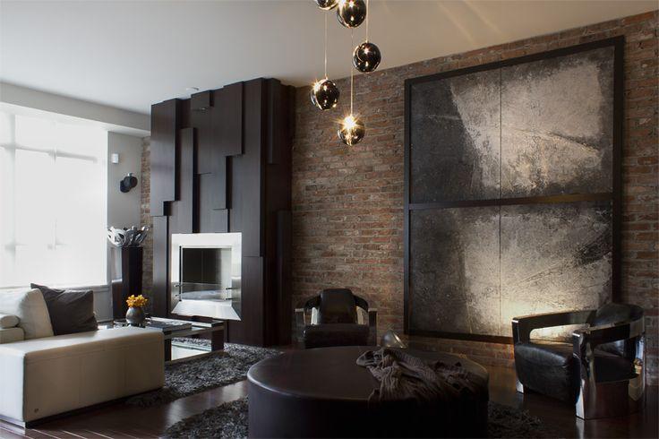 Masculine Sensibility – Yaletown Loft  | ZWADA home Interiors & Design