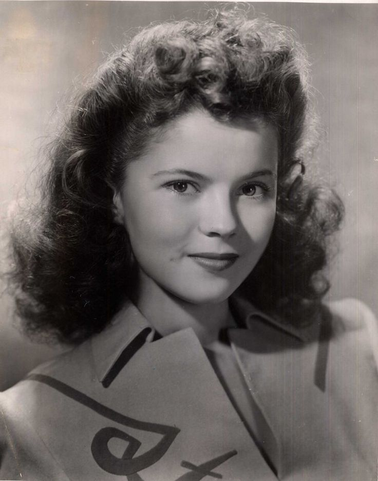 Shirley Temple--almost all grown up, 1940's