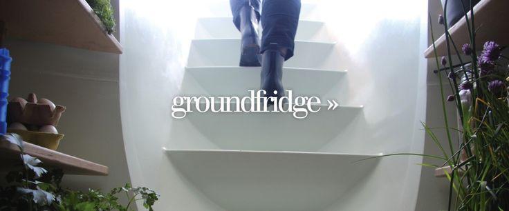 Ground Fridge - no electricity.  Modern root cellar