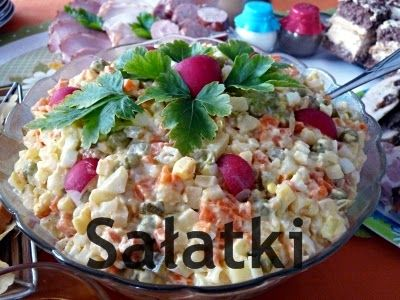 Kuchnia domowa Ani: Przepisy na sałatki
