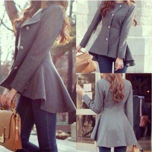 Выкройка пальто - модель 186 - скачать готовые выкройки одежды   Бюро GRASSER