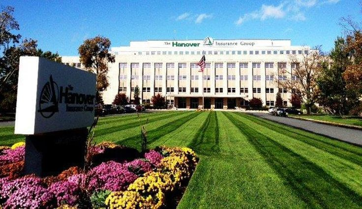 The Hanover Insurance Group Company  in Worcester, MA.. Home Office