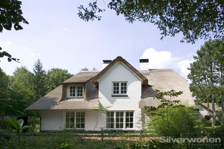 zijgevel rietgedekt woonhuis laren architect SILVERwonen