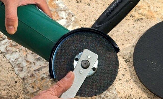 Trucs et astuces : recycler des disques pour meuleuse - http://www.systemed.fr/