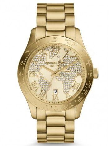 MICHAEL KORS Layton gold stainless steel bracelet MK5959 http://kloxx.gr/brands/michael-kors/michael-kors-layton-gold-stainless-steel-bracelet-mk5959