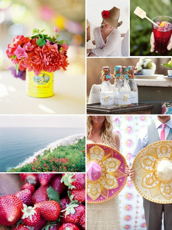 New Inspiration Board Design Challenge on Style Me Pretty today ~ From Inspiration to Invitation! Sponsored by Fuzzynk Design Studio. {click on the pic - twice - for details}: Color Palettes, Kalas Partyidea, Color Inspiration, Becci, Inspiration Boards, Destinations Weddings Mexico, Mexican Weddings, Mexicans Weddings, Destination Weddings