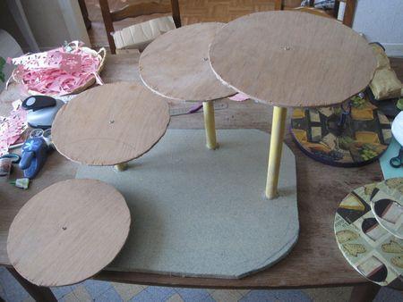 diy pr sentoir gateaux wedding cake pinterest. Black Bedroom Furniture Sets. Home Design Ideas