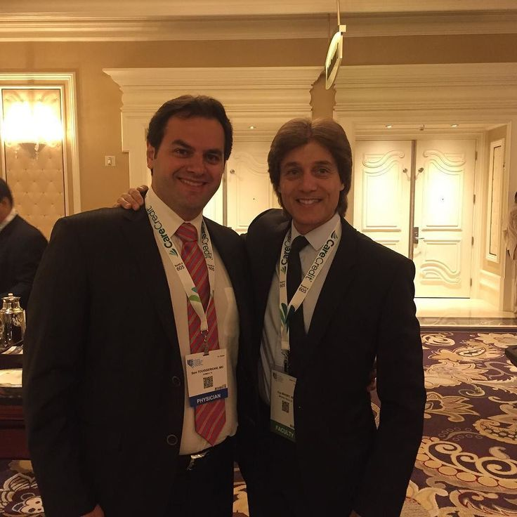 An honor to be on advisory board and organizing committee of the multi specialty aesthetic meeting in Las Vegas. Best part is see and meet new and old friends. This is Dr Sam Touisserkani from Iran. So good seeing him.  Life is about friendships - am blessed #love #friends #work #blessed