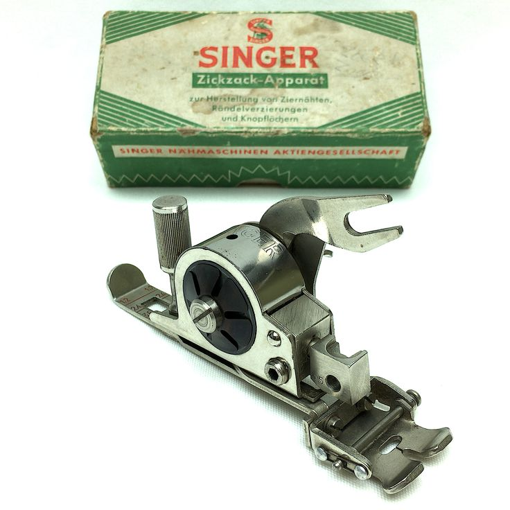 Extremely Rare Singer F570 Zig-Zag Attachment Foot ZigZagger Vintage by 3FTERS on Etsy