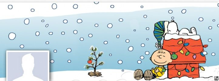 snoopy Facebook Covers | facebook cover photo xmas snoopy with peanuts for your fb profile