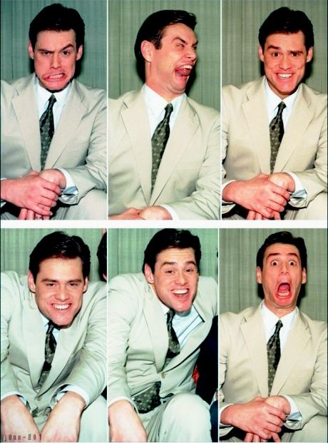 Jim Carrey, I use to have the biggest crush on him when I was young, lol, still love him though, he is so freakin hilarious