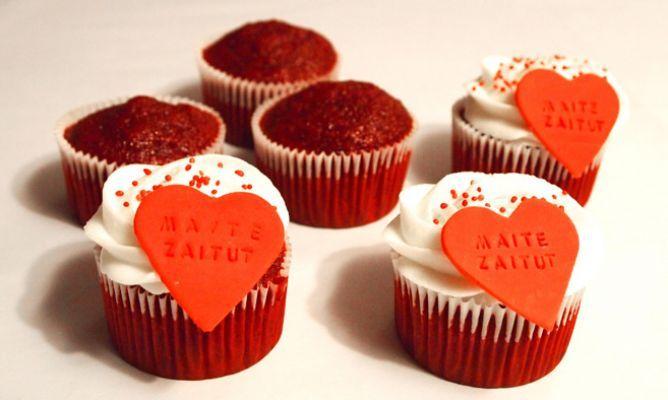 Cupcakes de terciopelo rojo – Red Velvet cupcakes