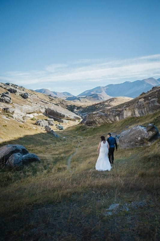 Flock Hill is the ideal wedding location in Canterbury, New Zealand